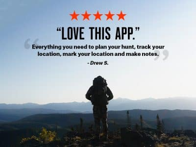onX Hunt is the must-have topographic map app for any outdoor enthusiast. Detailed and accurate 24K maps help you locate peaks, valleys, saddles and slopes on location with your phone or at home with your desktop.