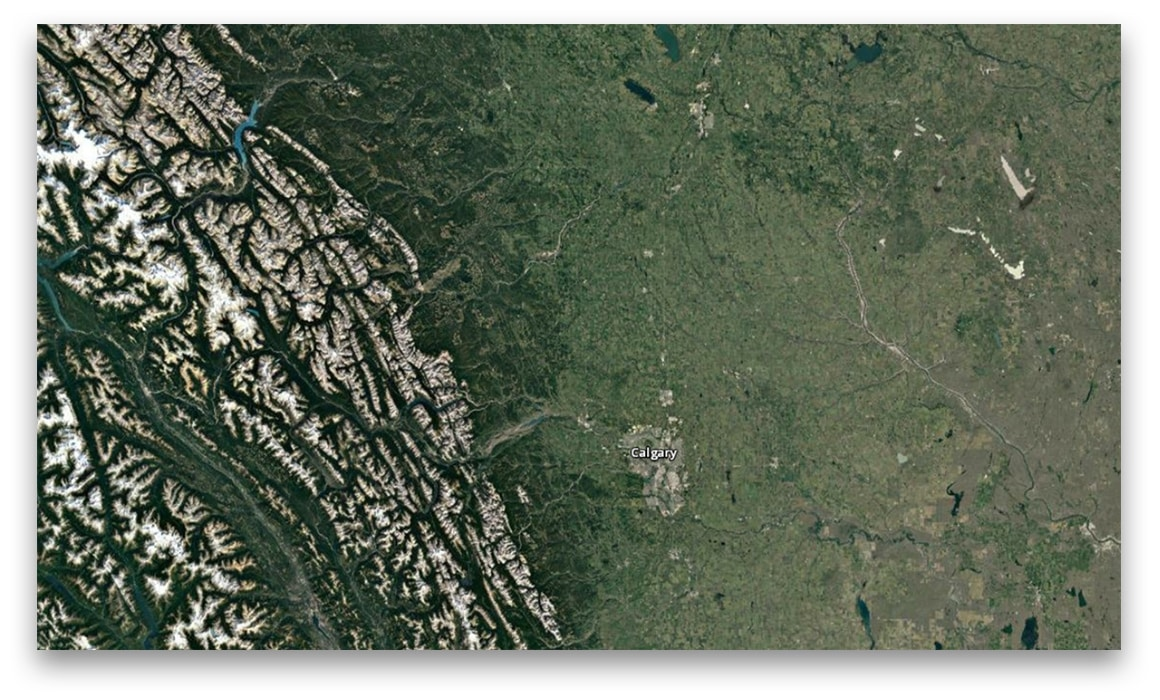 Satellite Imagery in Canada