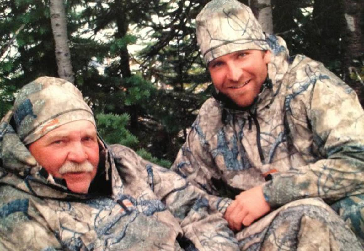 onX pro-staffer Jason Metzinger hunting with his dad.