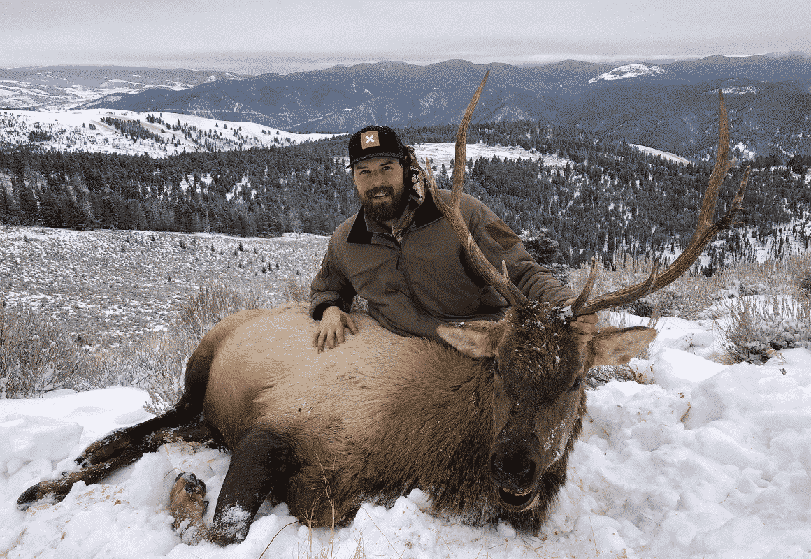 Zach and his elk
