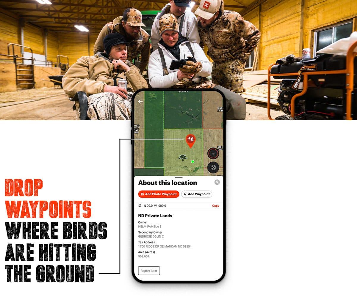 Anyone's Hunt: North Dakota Waterfowl Drop Waypoints