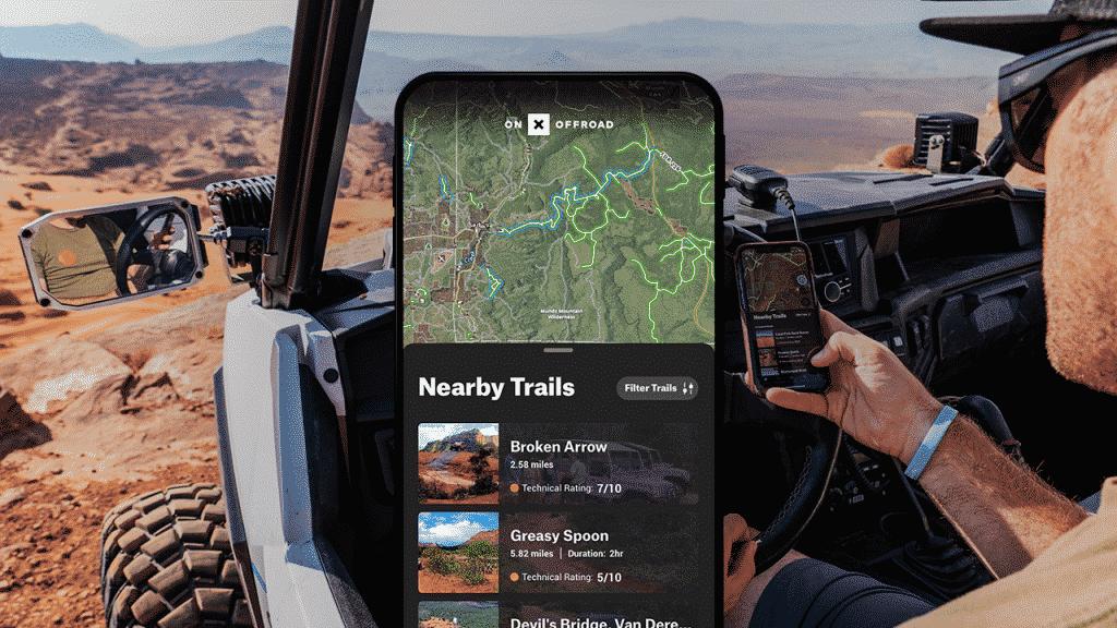 Maps of Arizona off-road trails