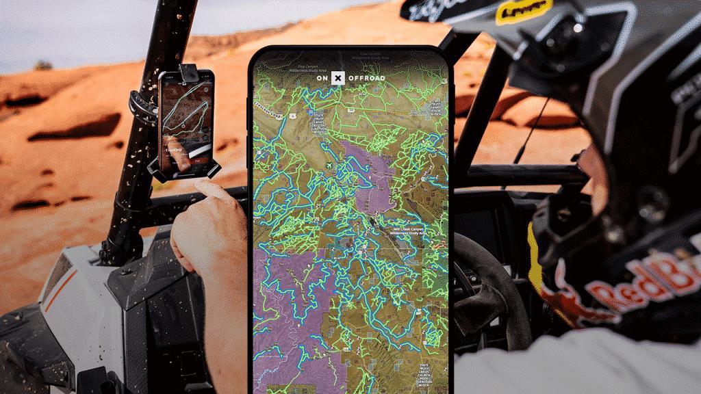 Maps of Utah off-road trails