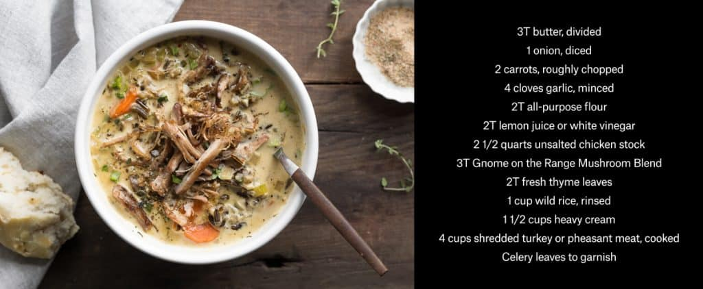 MeatEater's Turkey and Wild Rice Soup