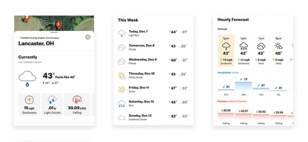 onX Hunt Weather feature 2