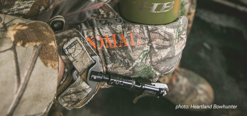 Keep hands and feet warm when hunting in cold weather conditions.