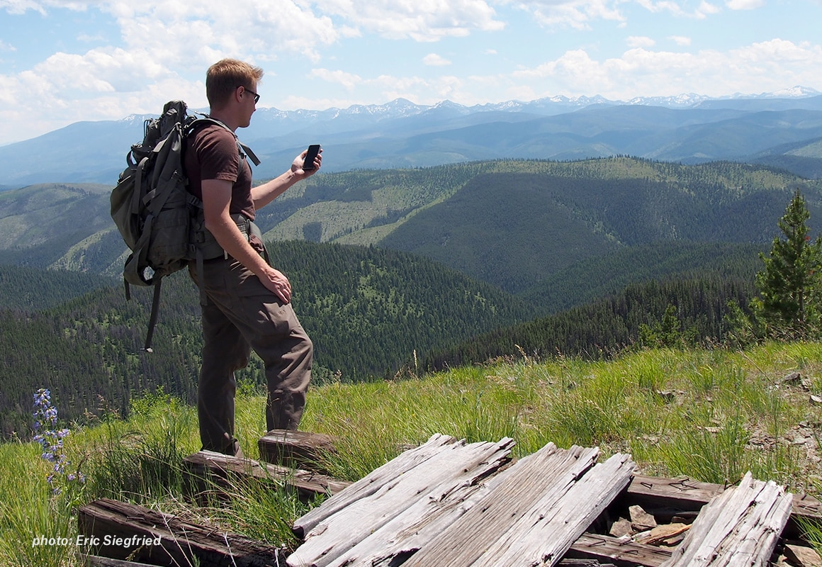 onX Hunt Founder Eric Siegfried refreshes his Map Layers in the Field