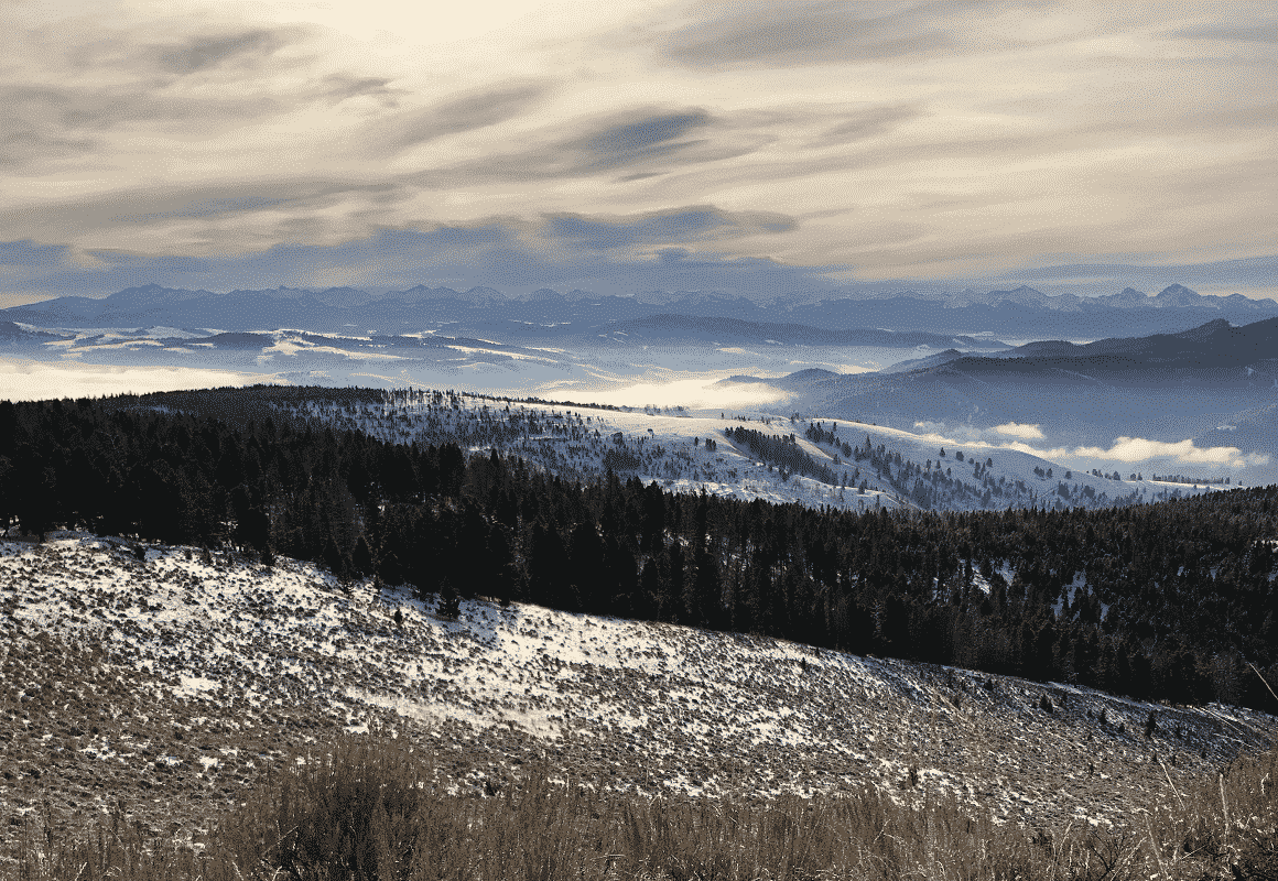 Pintler mountains