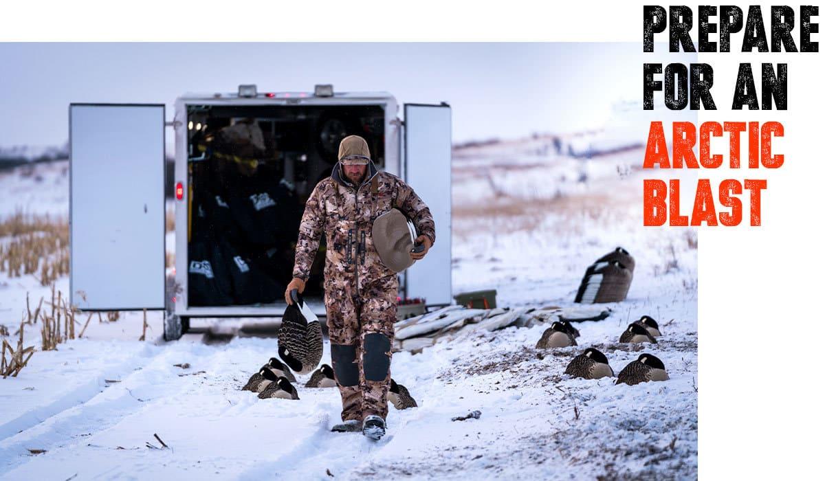 Anyone's Hunt: North Dakota Waterfowl Arctic Blast