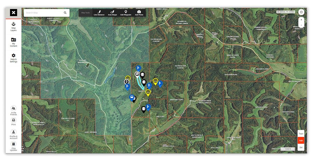 onX Hunt Web Map