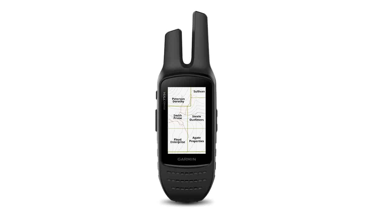 Garmin Rino 755t Hunting GPS compatible with onX GPS chip