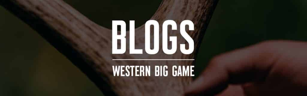The Hunter's Canon Western Big Game Blogs