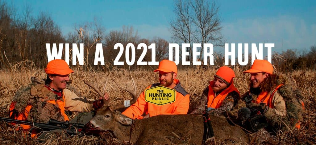 Win a 2021 Deer Hunt with The Hunting Public
