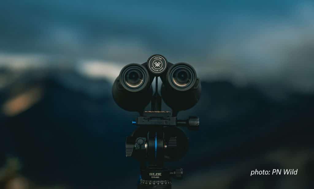 Glassing Equipment - Binoculars on Tripod