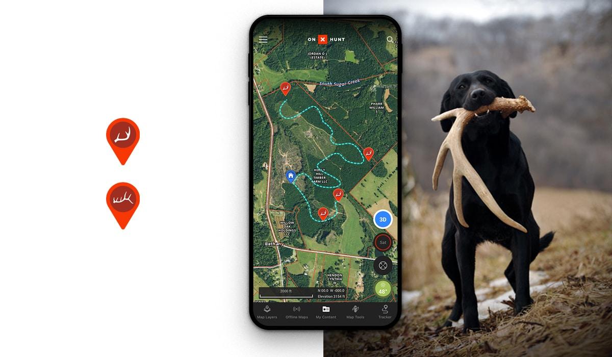 Does a Dog Mean More Sheds - onX Hunt