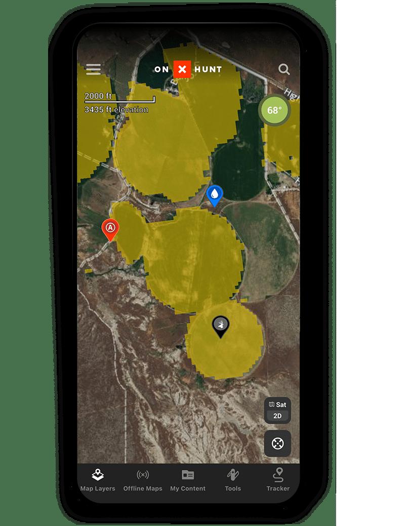 wheat and grain crop data layer