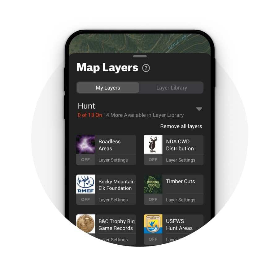 Map Hunt Layers