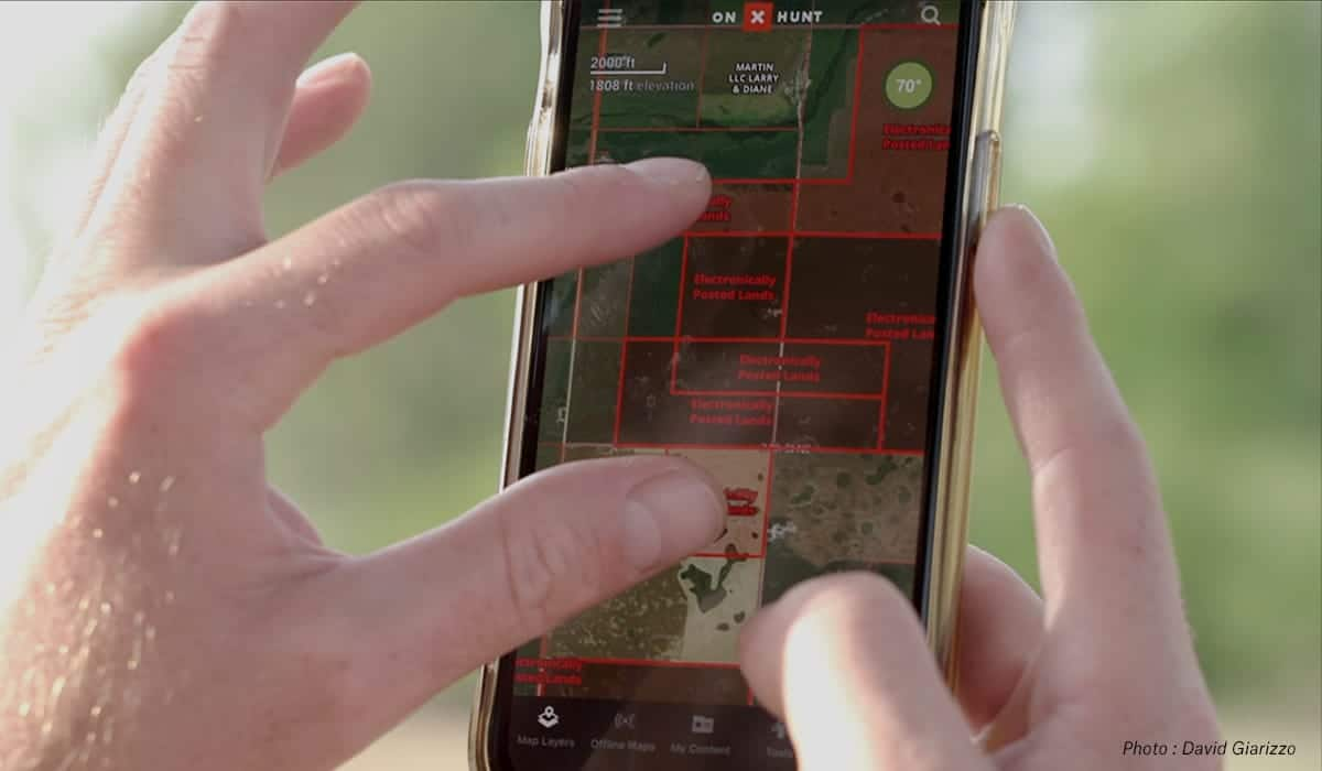 How to Find Property Lines with onX Hunt App