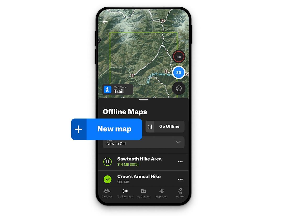 Offline Maps 101 New Map Screenshot