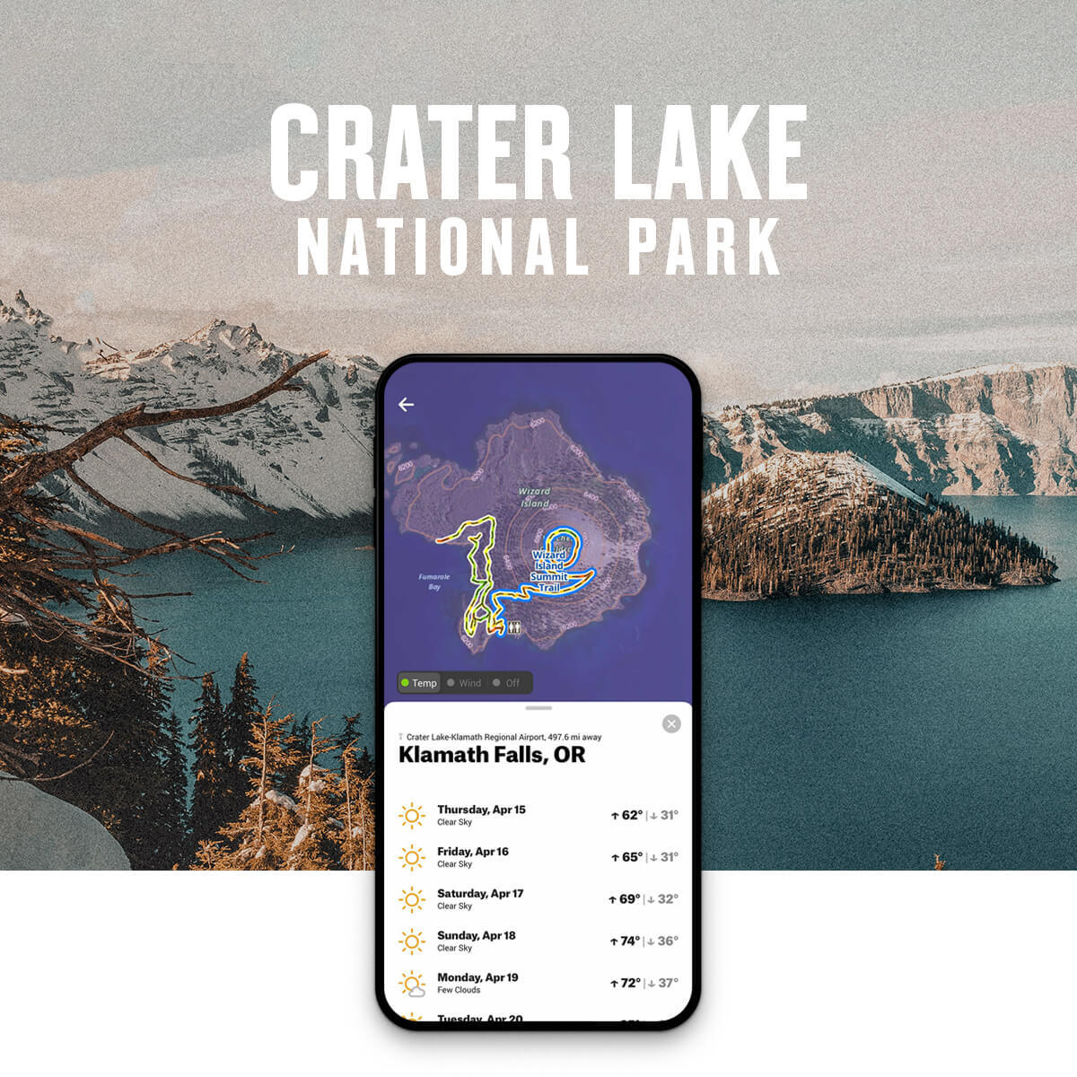 National Park Week Crater Lake