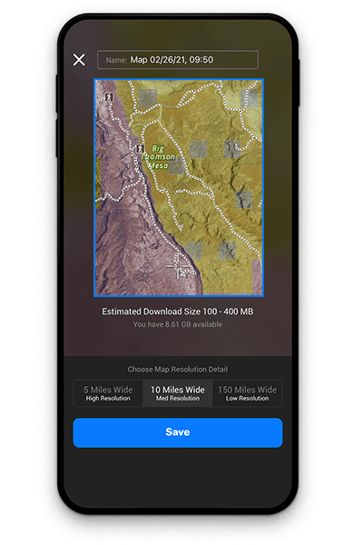 onX Backcountry Offline Maps