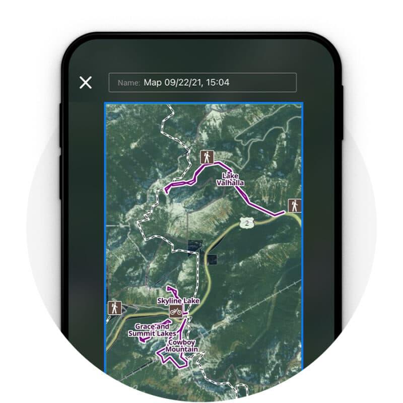 xc skiing weather app