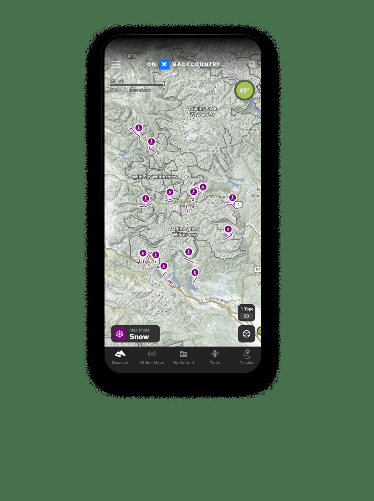 Snowshoe Trail App