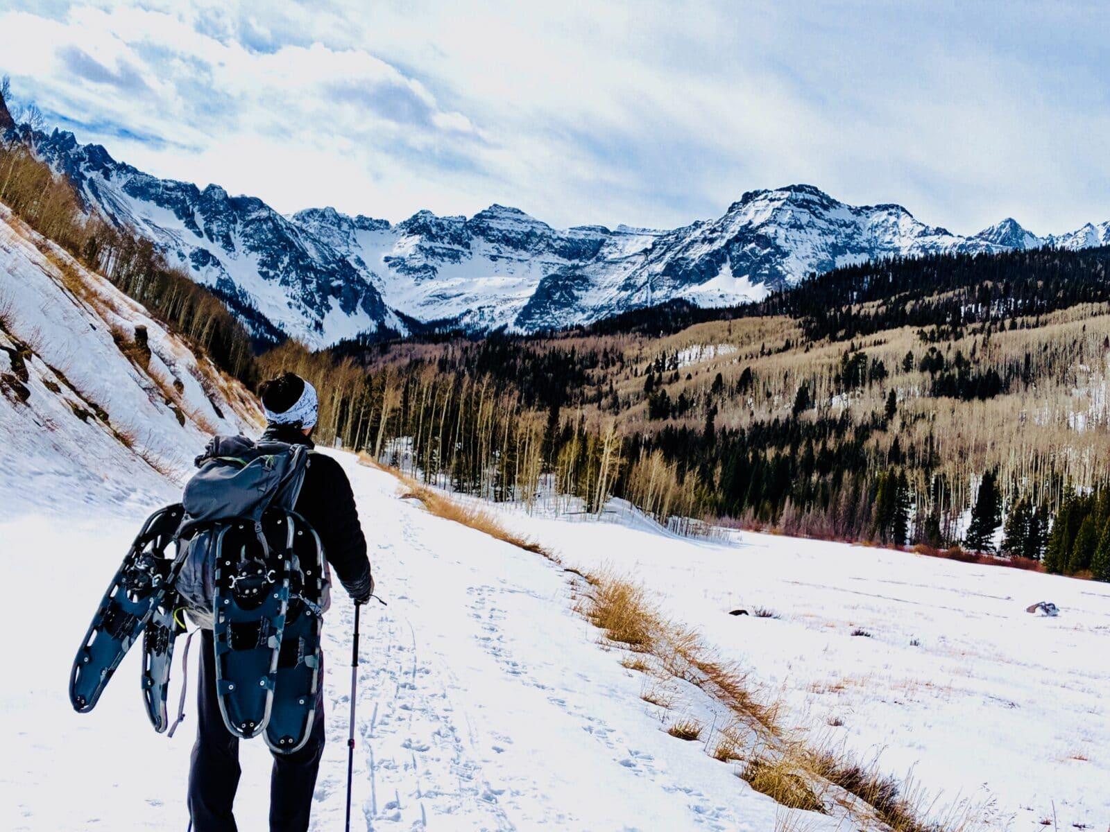 Snowshoeing GPS App