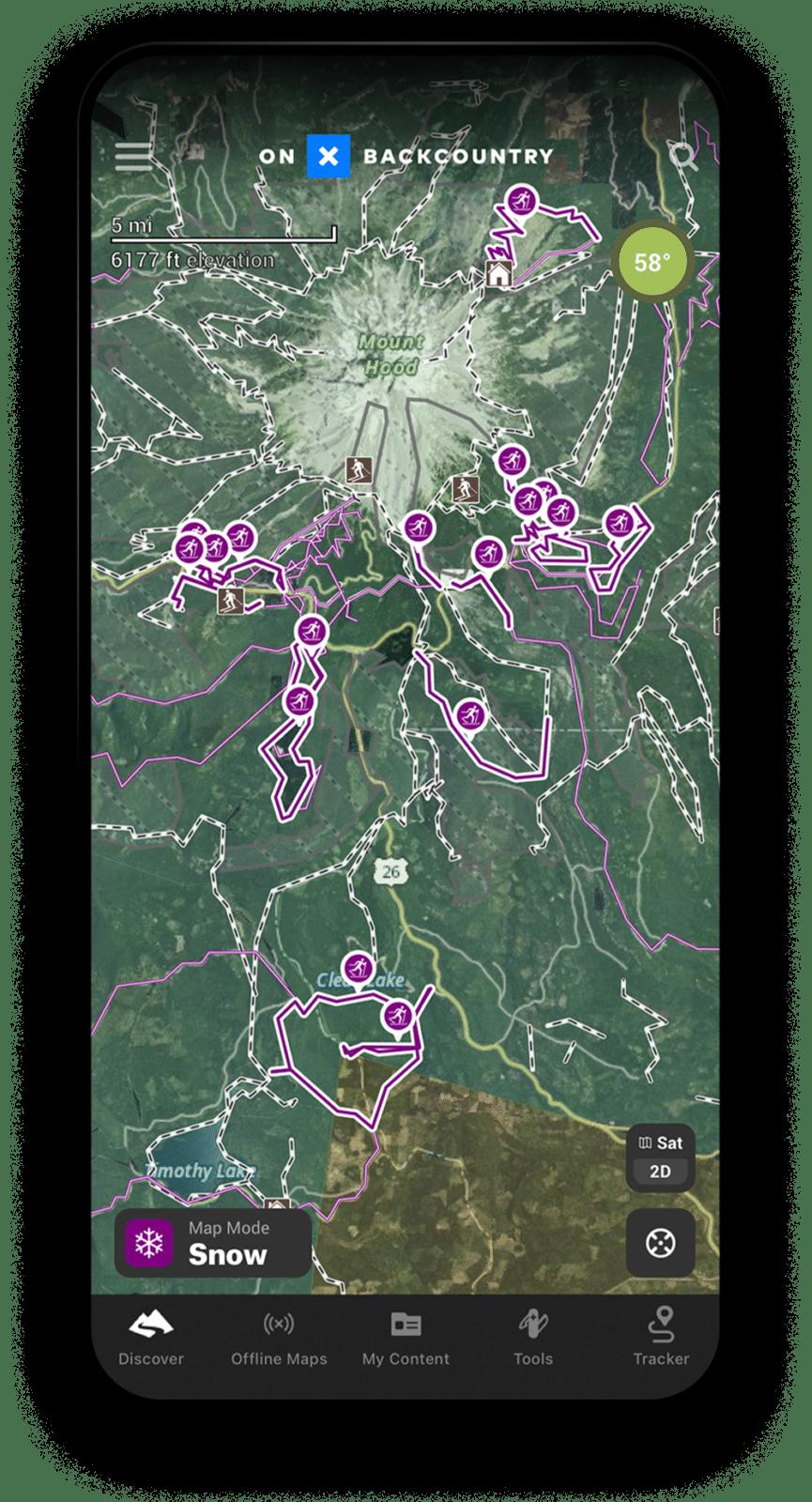 cross country ski app