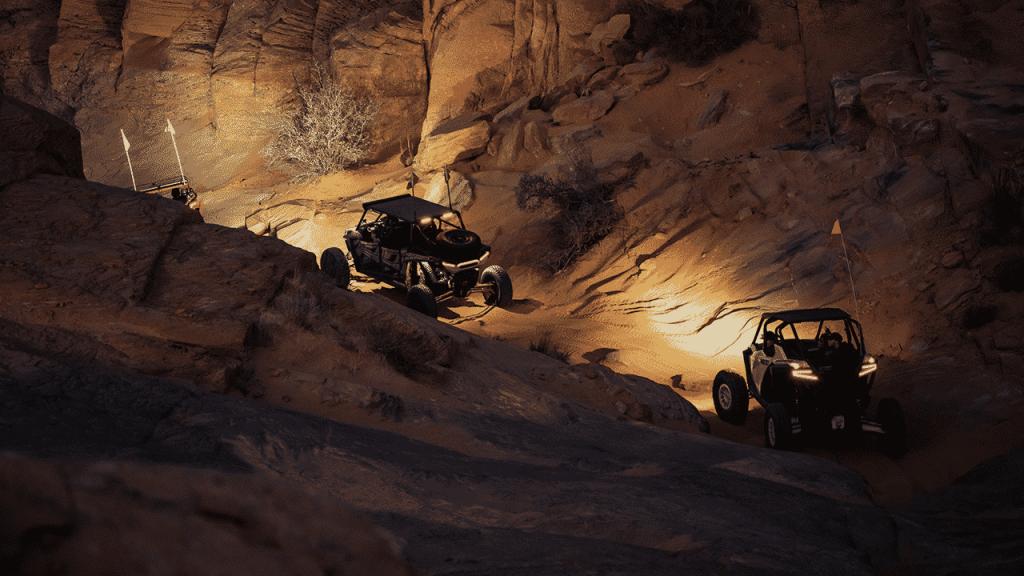 Exploring Moab off-road trails