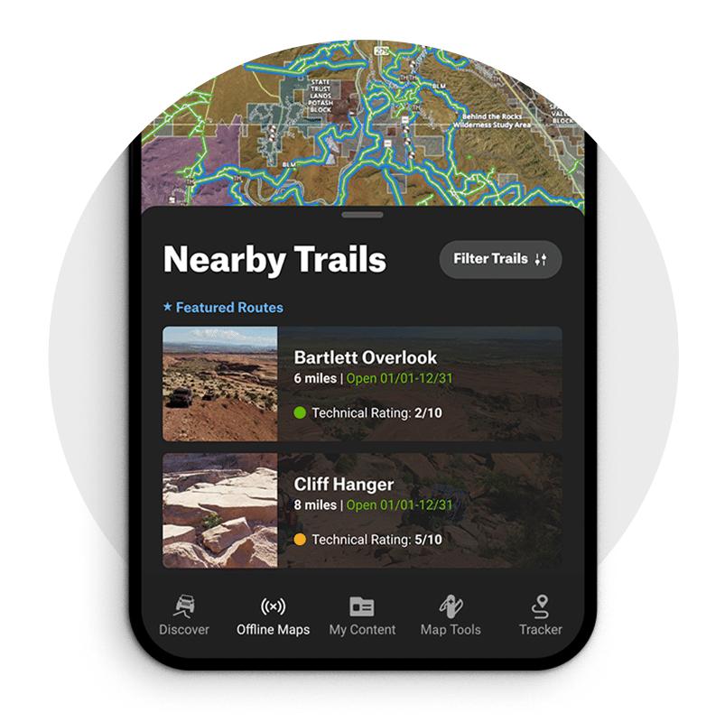 ATV and dirt bike Trails Near Me