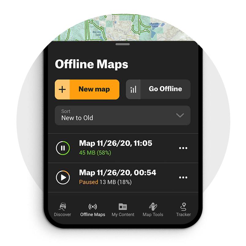 Offline offroad Maps