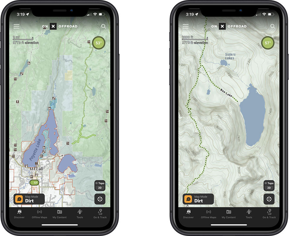 How to access trail closure info on onx offroad